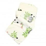 Κουβέρτα Βρεφική Panda Φλις