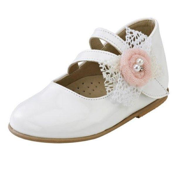 Παπούτσι Βάπτισης Gorgino Κορίτσι Νο2041-1
