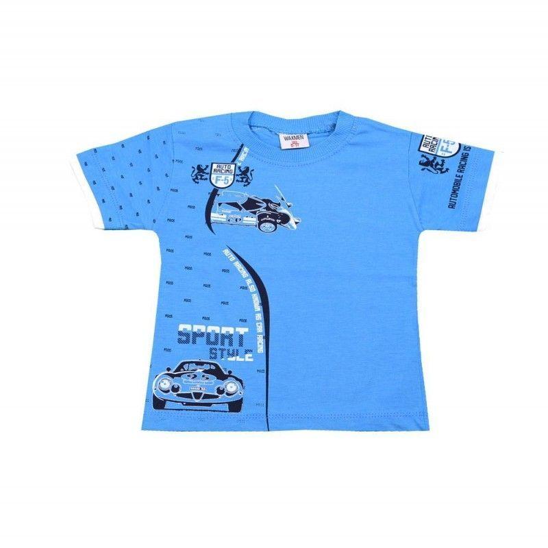 Μπλούζα Auto Racing Αγόρι 0-4