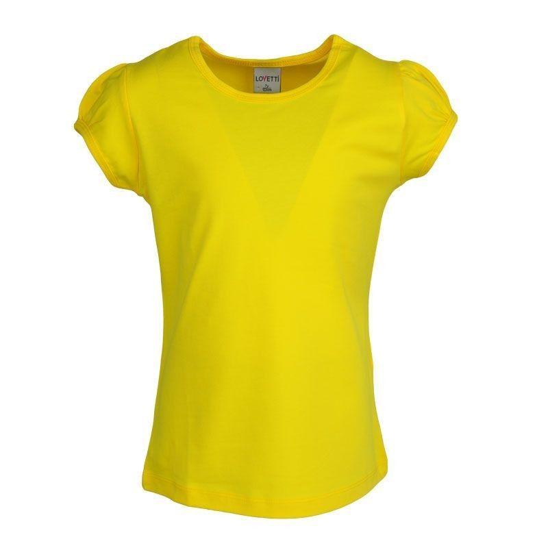 Μπλούζα Basic Κορίτσι Κίτρινη Lovetti 1-16
