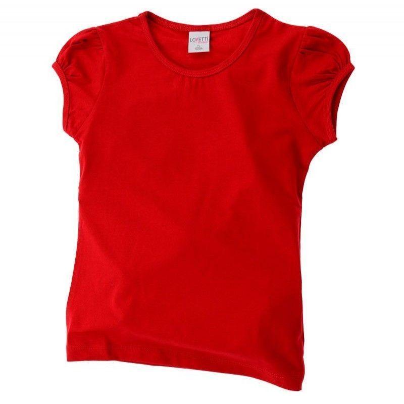 Μπλούζα Basic Κορίτσι Κόκκινη Lovetti 1-16