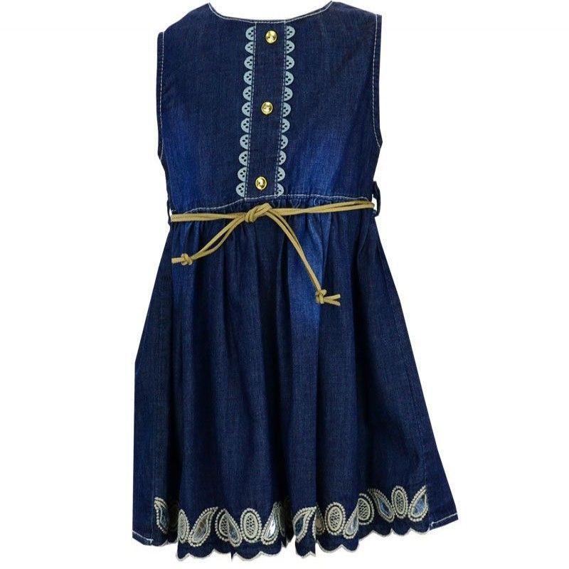 Φόρεμα Κορίτσι Beautiful 6-24μ Μπλε Τζην
