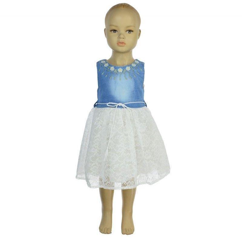 Φόρεμα Κορίτσι Doll 1-4 Λευκό