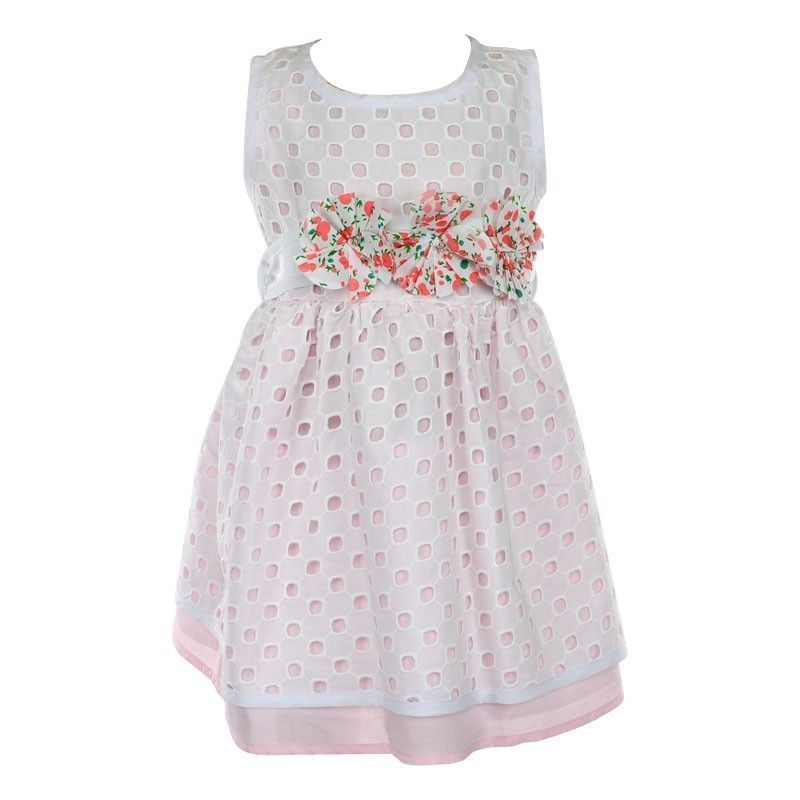 Παιδικό Φόρεμα Εβίτα Flower-Belt 1-6