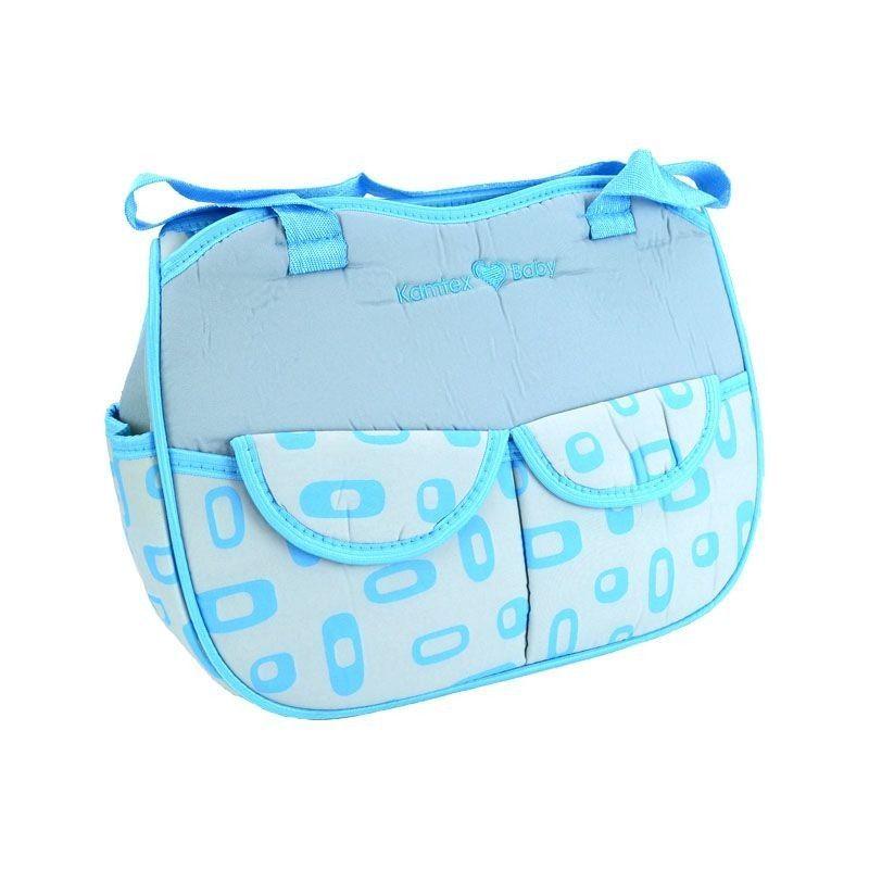 Kamtex Βρεφική Τσάντα μωρού grey-blue