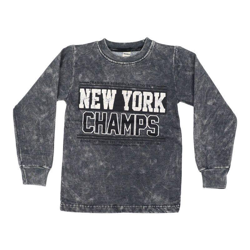 Mπλούζα Αγόρι New York (3-15ετών)Γκρι
