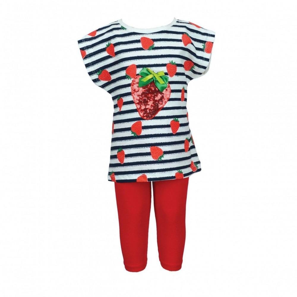 Παιδικό Σετ Εβίτα 186564Navy-Strawberry (6-18μηνών)