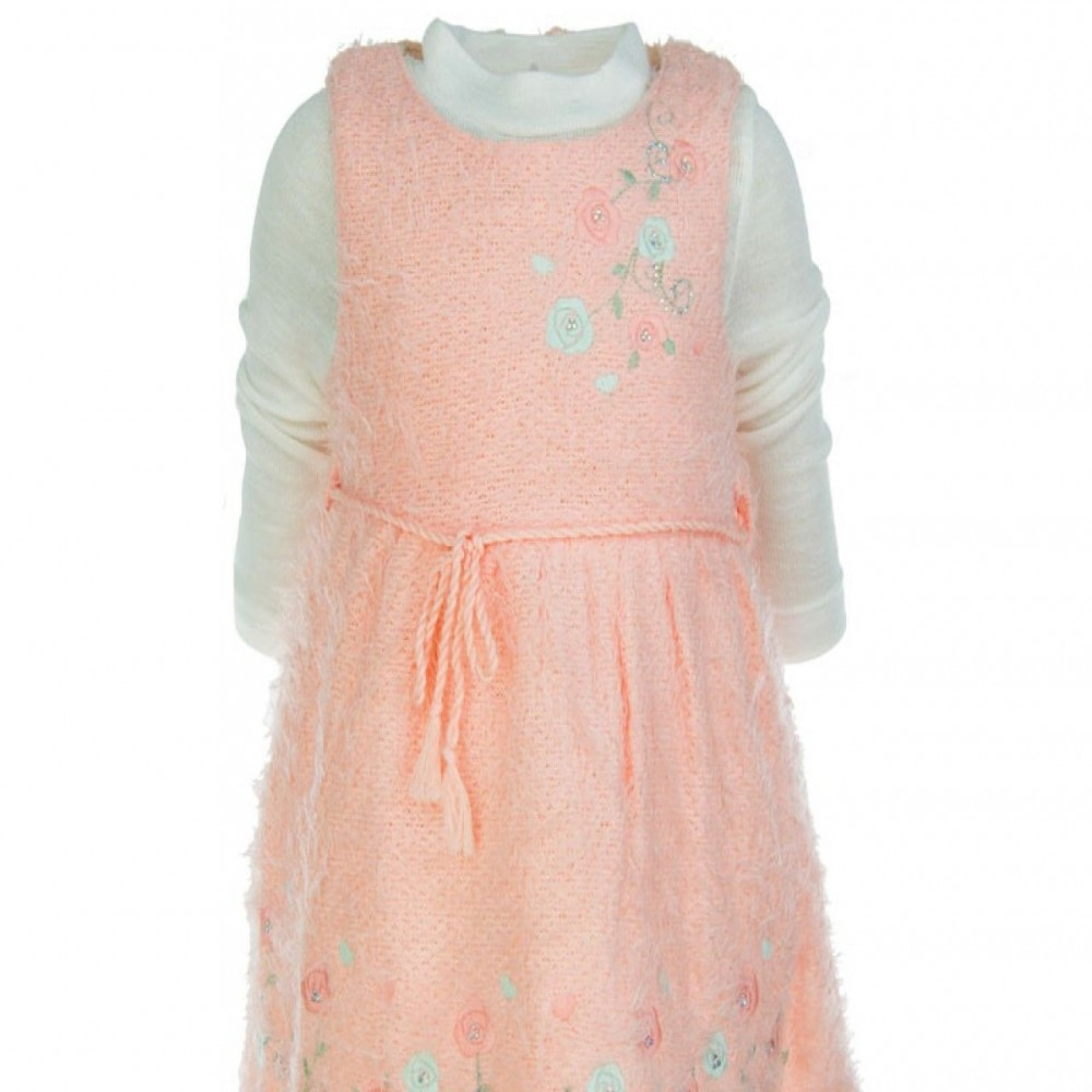 Παιδικό Φόρεμα 3858 Ροζ (1-4 ετών)