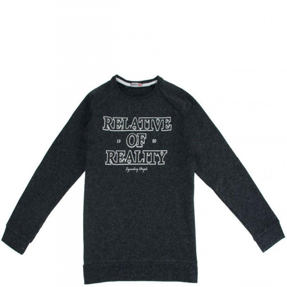 Παιδική Μπλούζα 6807 (13-17 ετών) Γκρι Μελανζέ