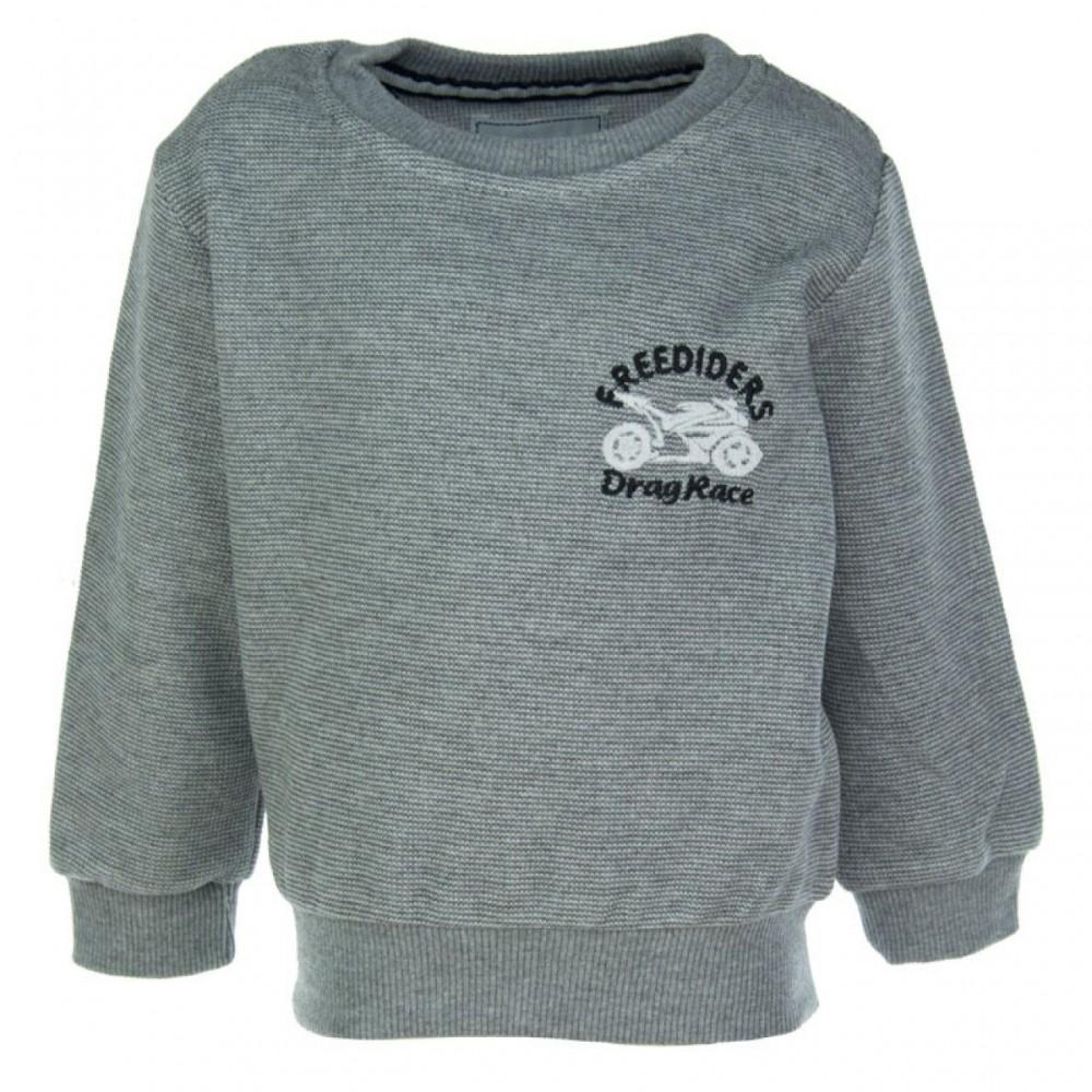 Παιδική μπλούζα rip18519 Μαύρο-Γκρι (1-4ετών)