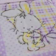 Κουβέρτα Παιδική (90εκ X 120εκ.) 45878 Μωβ