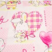 Κουβέρτα Παιδική (90εκ X 120εκ.) 45878 Ροζ