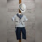 Κοστούμι Piccolino bruno navy 19s04