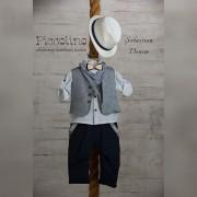 Κοστούμι Piccolino Sebastian denim 19s01