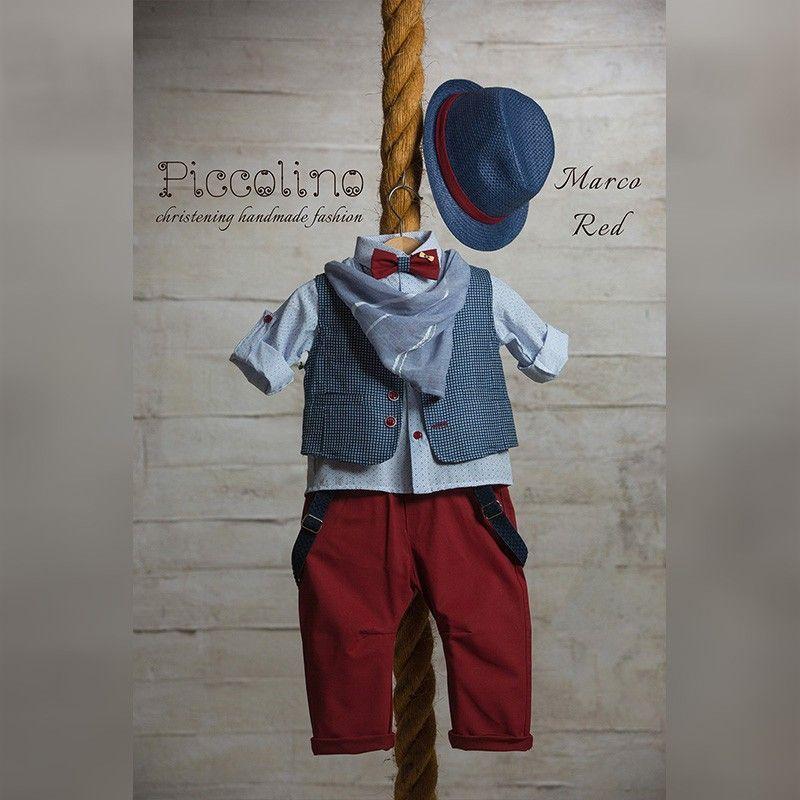 Κοστούμι Piccolino marco red 19s08