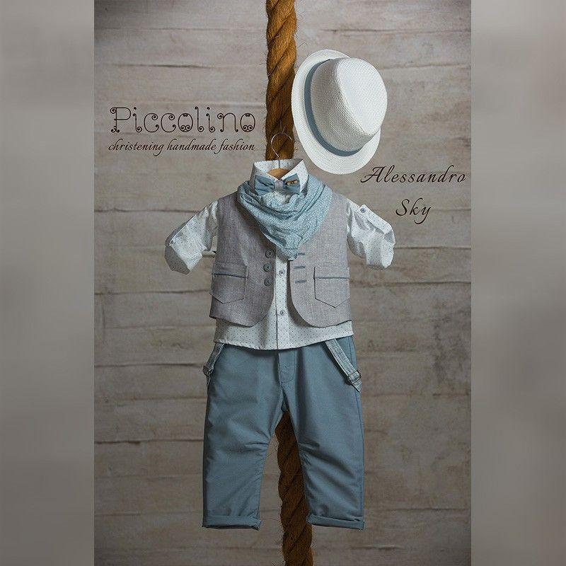 Κοστούμι Piccolino alessandro sky 19s03