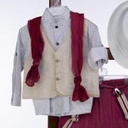 Βαπτιστικό Κοστούμι 12-24 Μηνών La Christine ST75