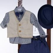 Βαπτιστικό Κοστούμι 12-24 Μηνών La Christine ST80