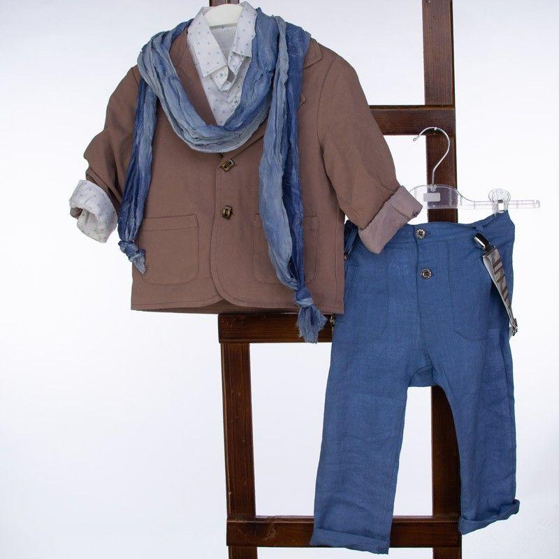 Βαπτιστικό Κοστούμι 12-24 Μηνών La Christine  ST73