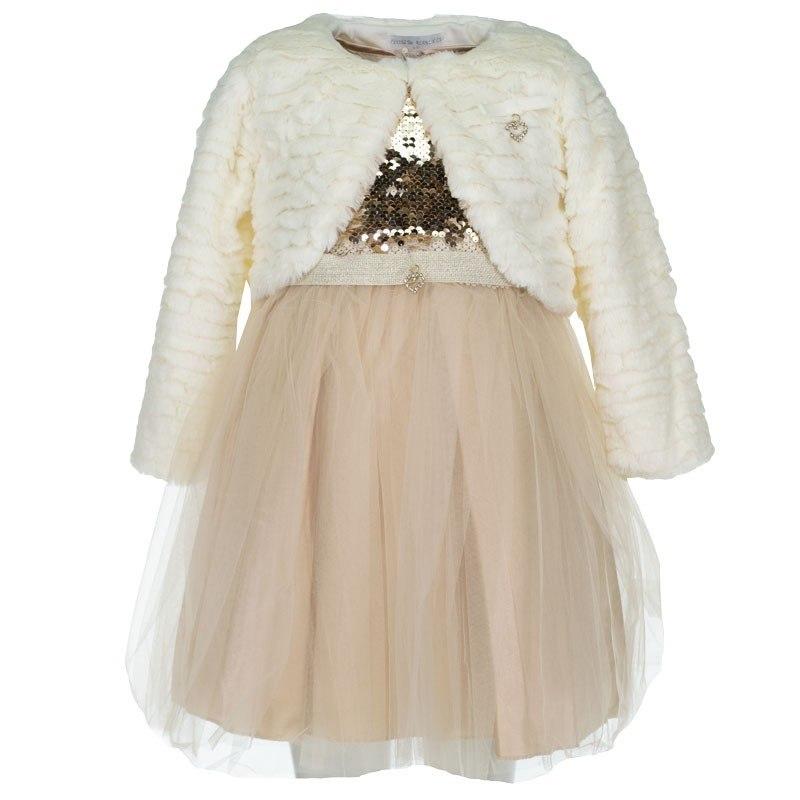 Μπολερό και Φόρεμα Εβίτα 199206 (1-5 ετών)