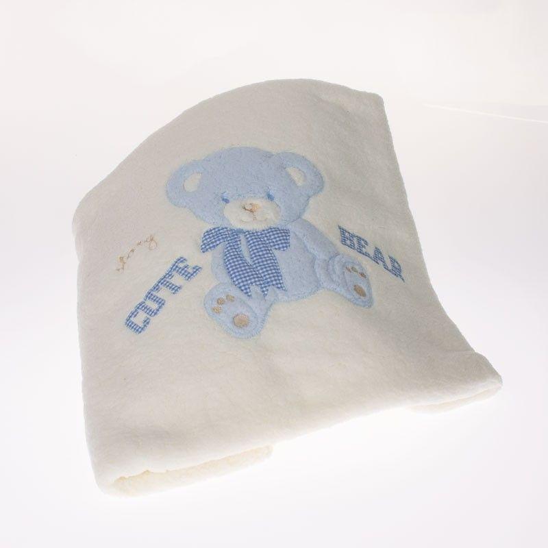 Βρεφική Κουβέρτα 9019-σιέλ
