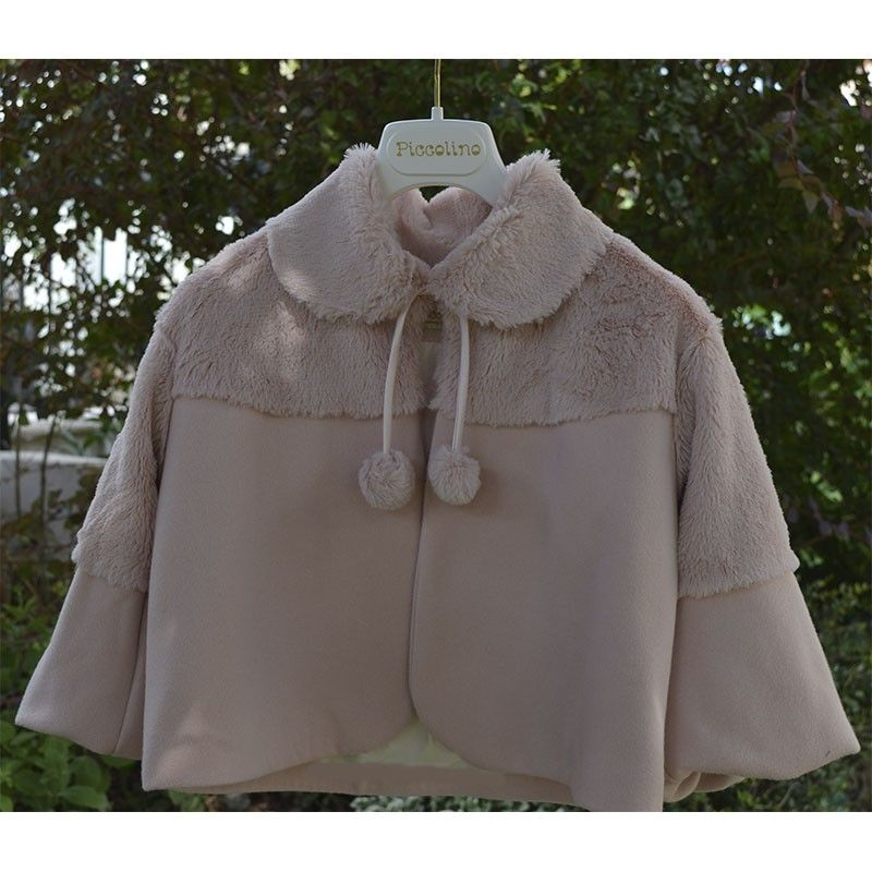 Βαπτιστικό Γουνάκι-Παλτό Piccolino Fur 19f21