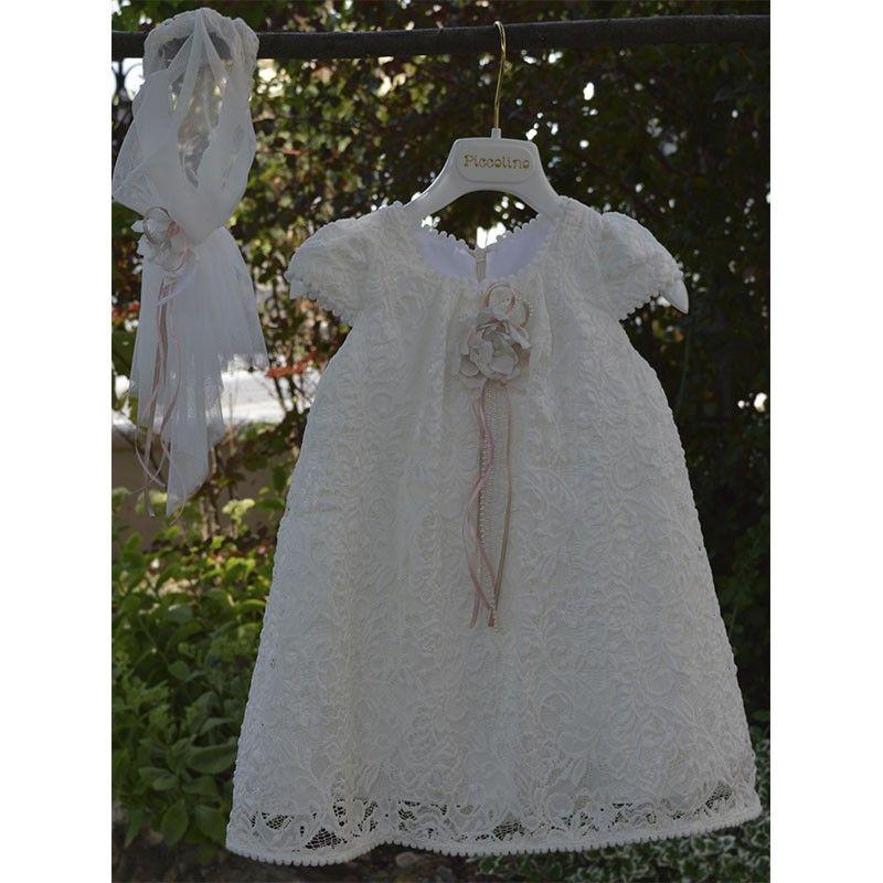 Φόρεμα Βάπτισης Piccolino Felicia 19f09 ivory