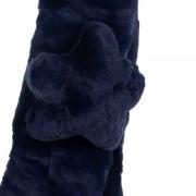 Αυτάκια γούνινα και κασκόλ 9100-18