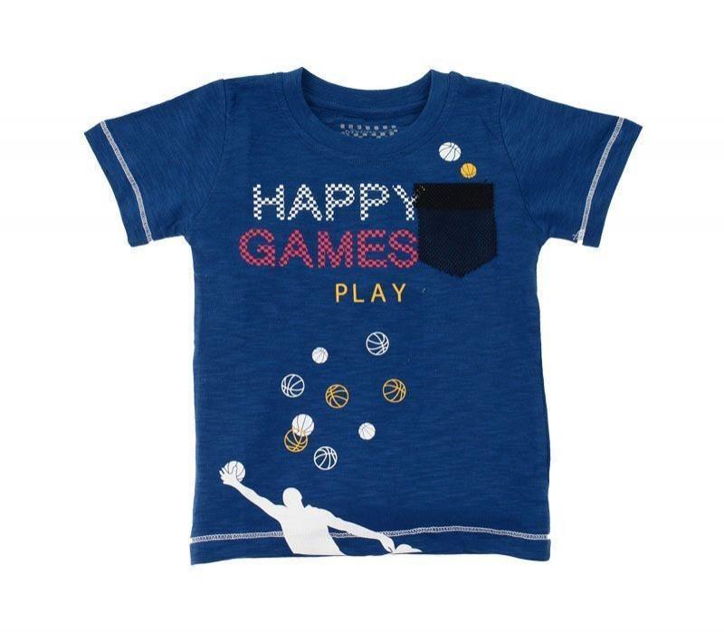 Μπλούζα Αγόρι Happy Games 31819 (1-4)