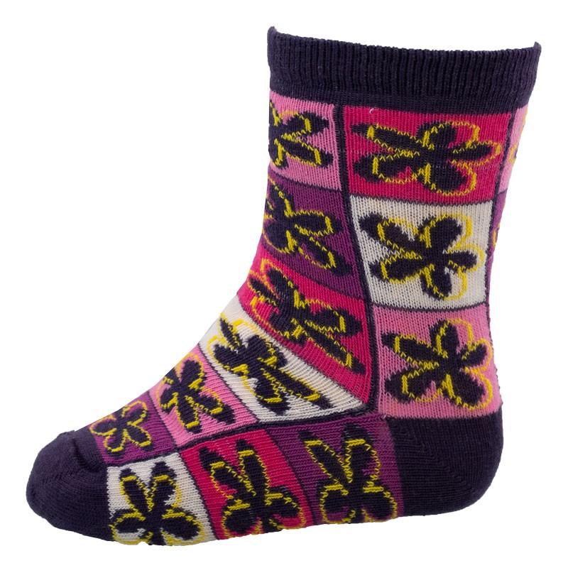Παιδικές κάλτσες 601-137 Λουλούδια (Νο18-20)
