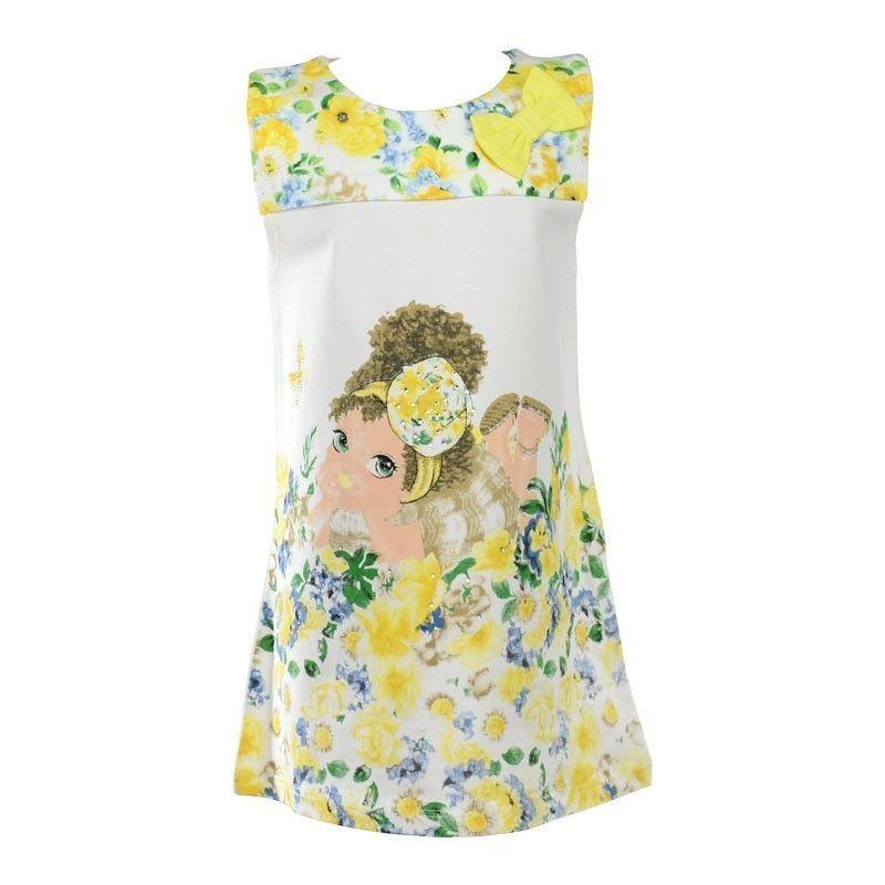 Παιδικό Φόρεμα Εβίτα Flower-Girl 1-6