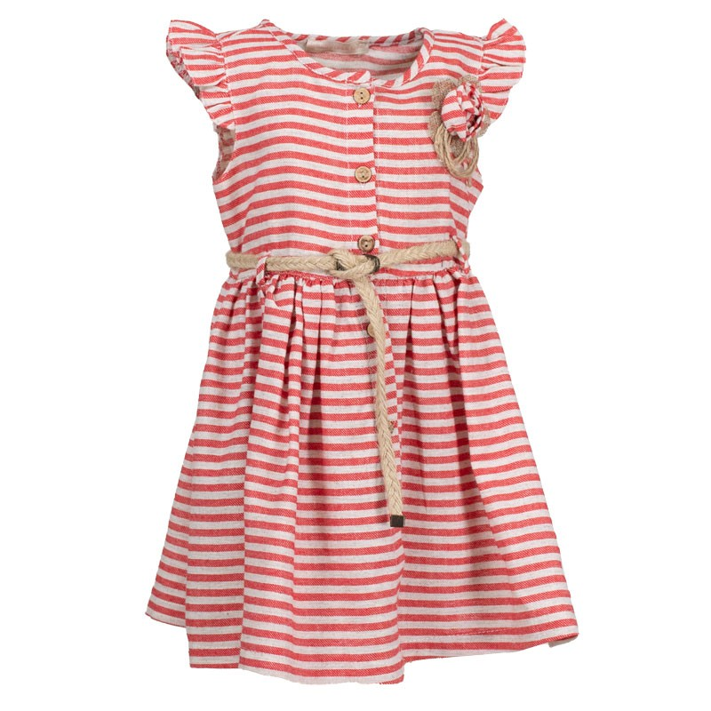 Φόρεμα ριγέ 3067 (1-4 ετών)