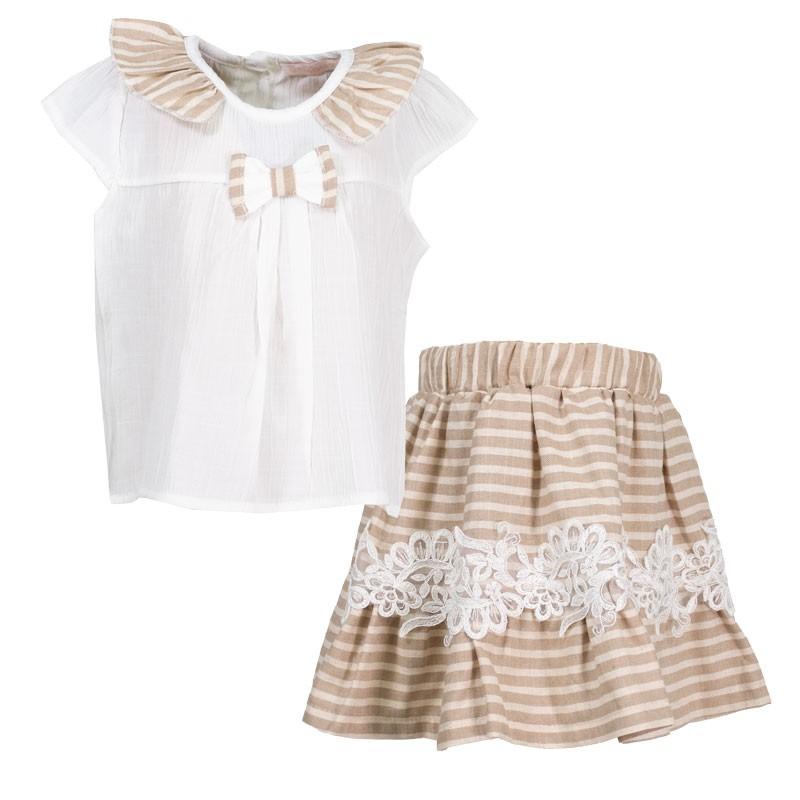Σετ φόυστα-μπλούζα 3094 (1-4 ετών)