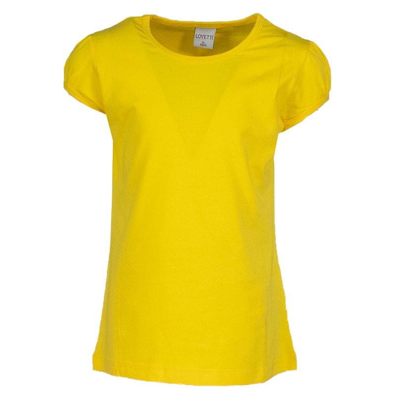 Μπλουζα basic lovetti 31004 (1-12 ετων) κιτρινη