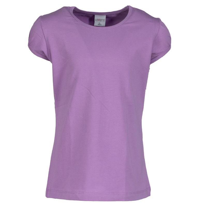 Μπλουζα basic 31002 κορίτσι (1-16 ετων) μωβ