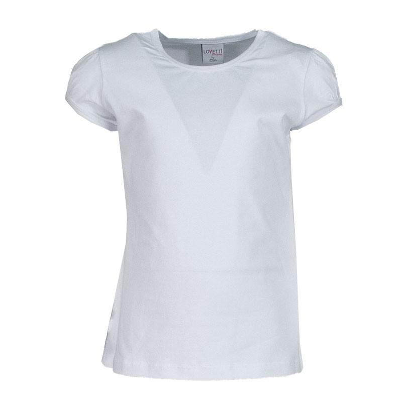 Μπλουζα basic 31010 κορίτσι (1-16 ετων) Λευκό