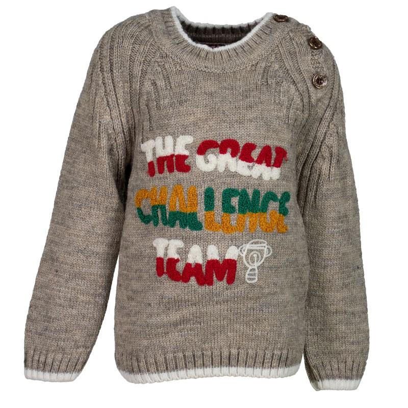 Μπλούζα πλεκτή 5090 (1-4 ετών) αγόρι