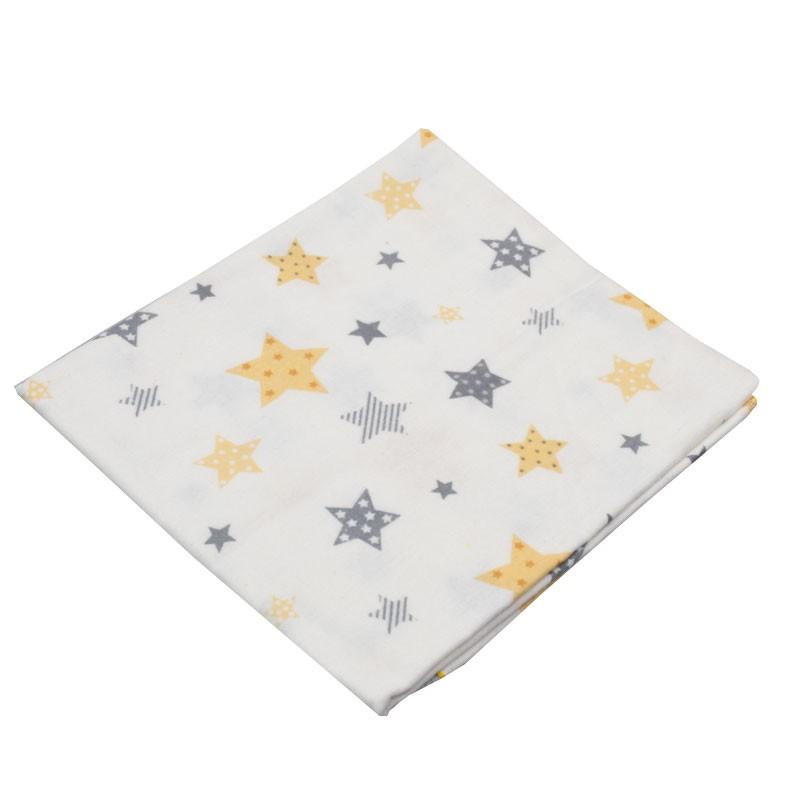 Βρεφική πάνα με αστεράκια 0119(76 x 88 cm)