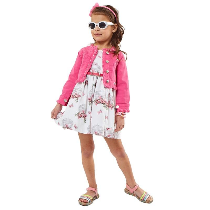Φόρεμα με Σακακι Εβίτα 202211 (1-6 ετών)