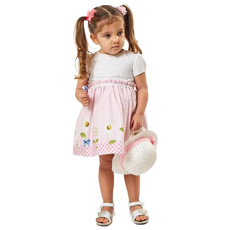 Βρεφικο Φόρεμα Εβίτα 202504 (6-18 μηνών)