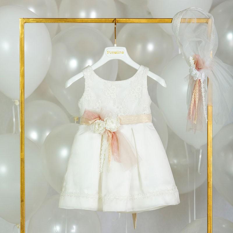 Φόρεμα Βάπτισης piccolino regola 20s14