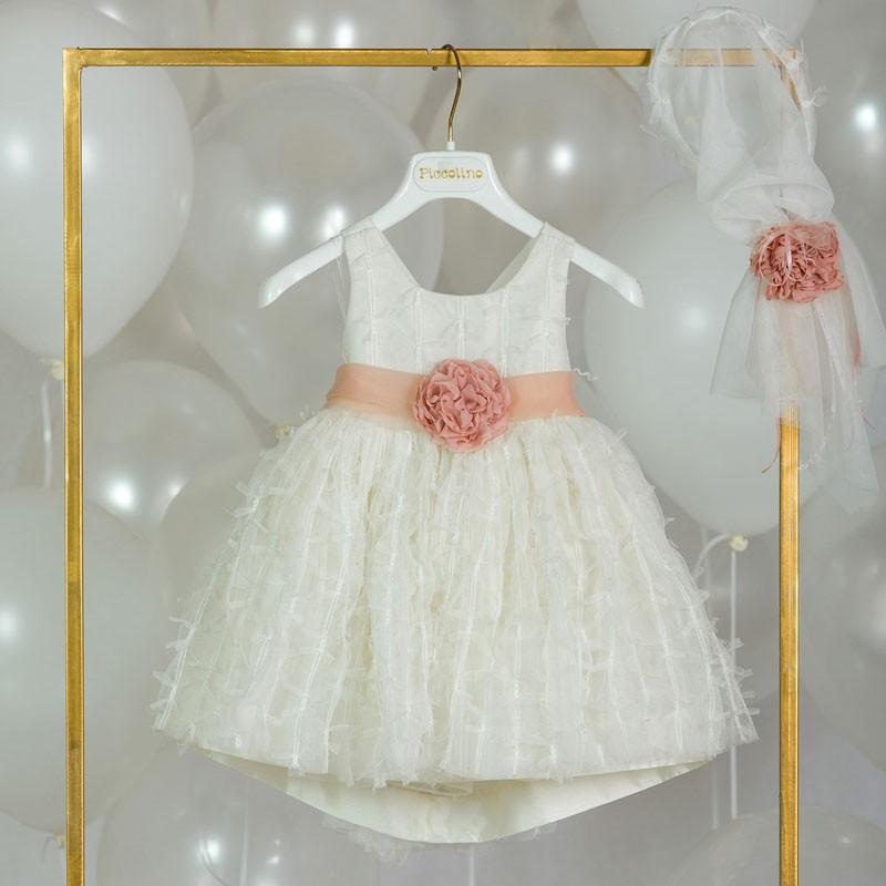 Φόρεμα Βάπτισης piccolino odette 20s21
