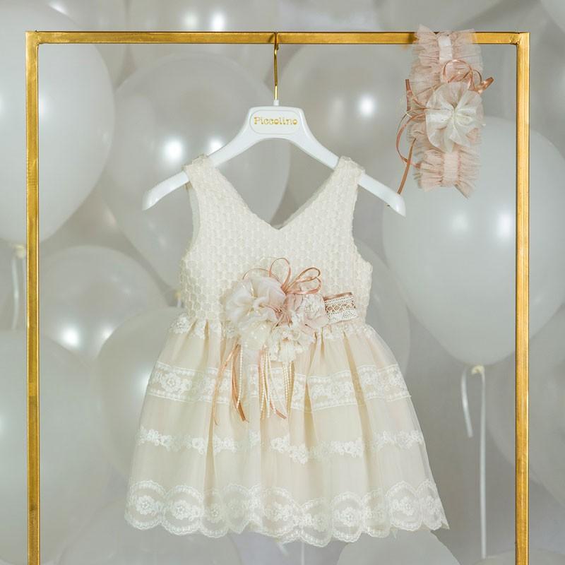 Φόρεμα Βάπτισης piccolino emma 20s28