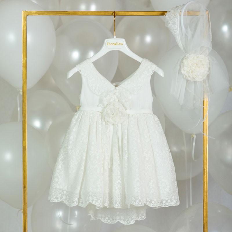 Φόρεμα Βάπτισης piccolino roxane 20s36