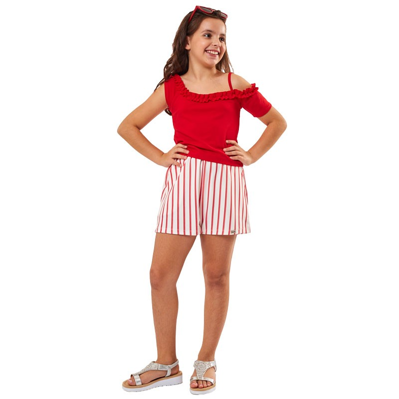 Σετ με σορτσάκι Εβίτα 202023 (6-16 ετών)