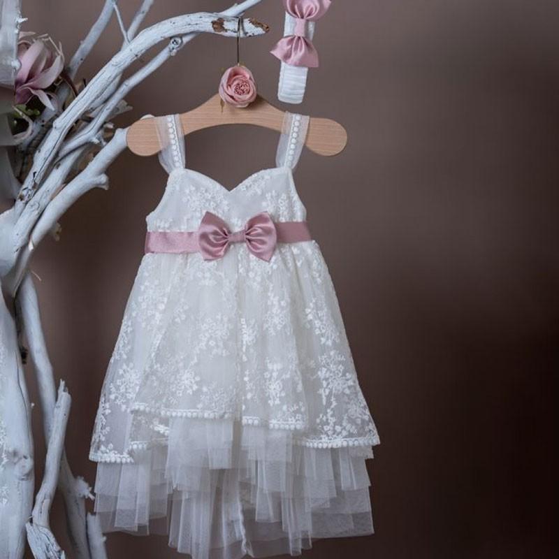Φόρεμα Βάπτισης 20k301 La Christine