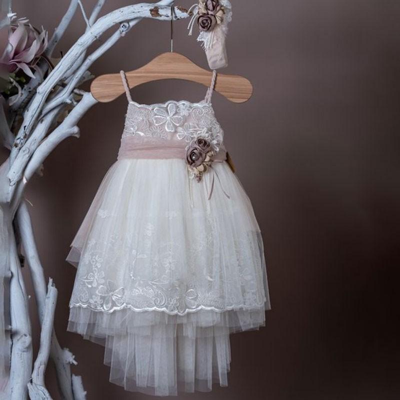 Φόρεμα Βάπτισης 20k311 La Christine