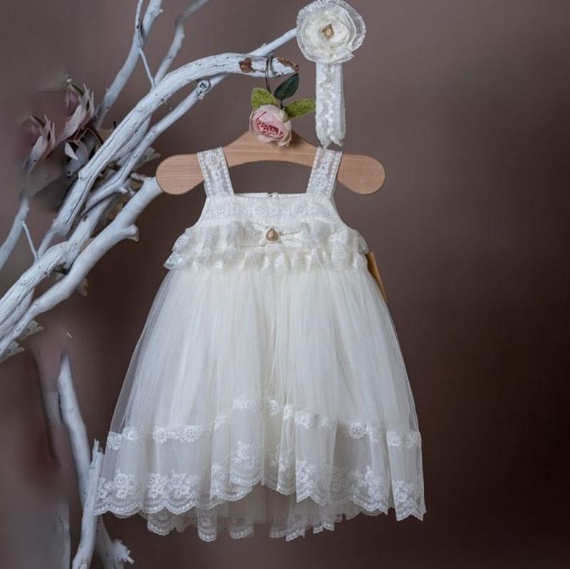 Φόρεμα Βάπτισης 20k319 La Christine