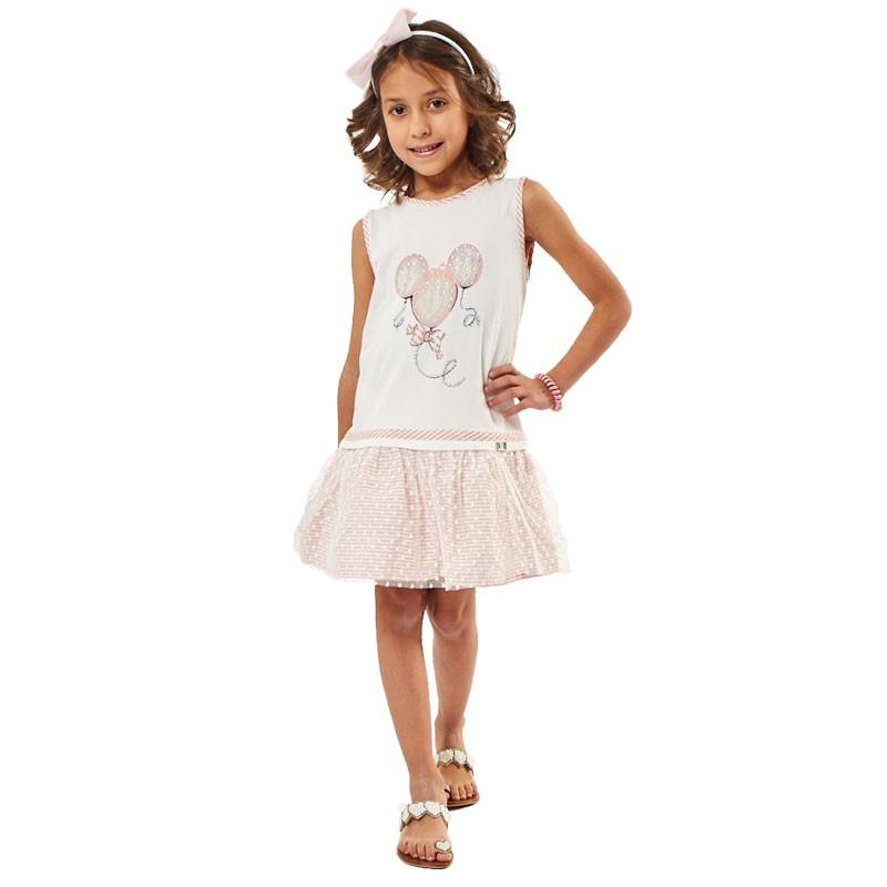 Φόρεμα Εβίτα 202248 (1-6 ετών)