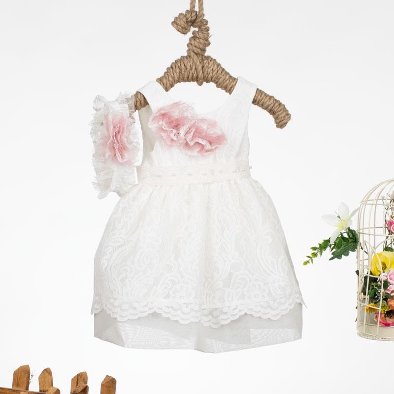 Φόρεμα Βάπτισης 9462 Makis Tselios(12-24 Μηνών)